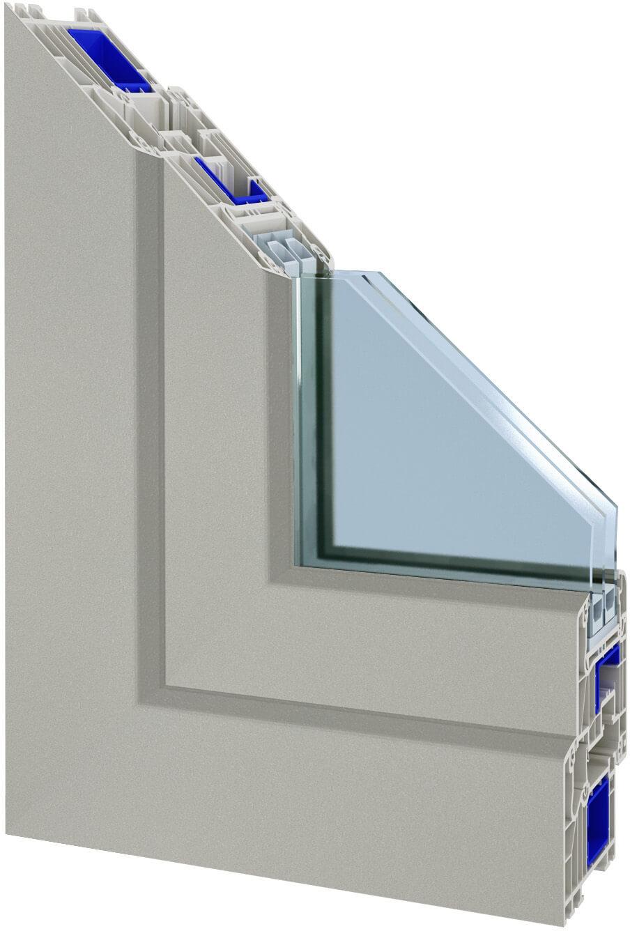 Schüco kunststofffenster farben  Kunststofffenster Schüco - Farbauswahl - Günstige Schüco Fenster ...